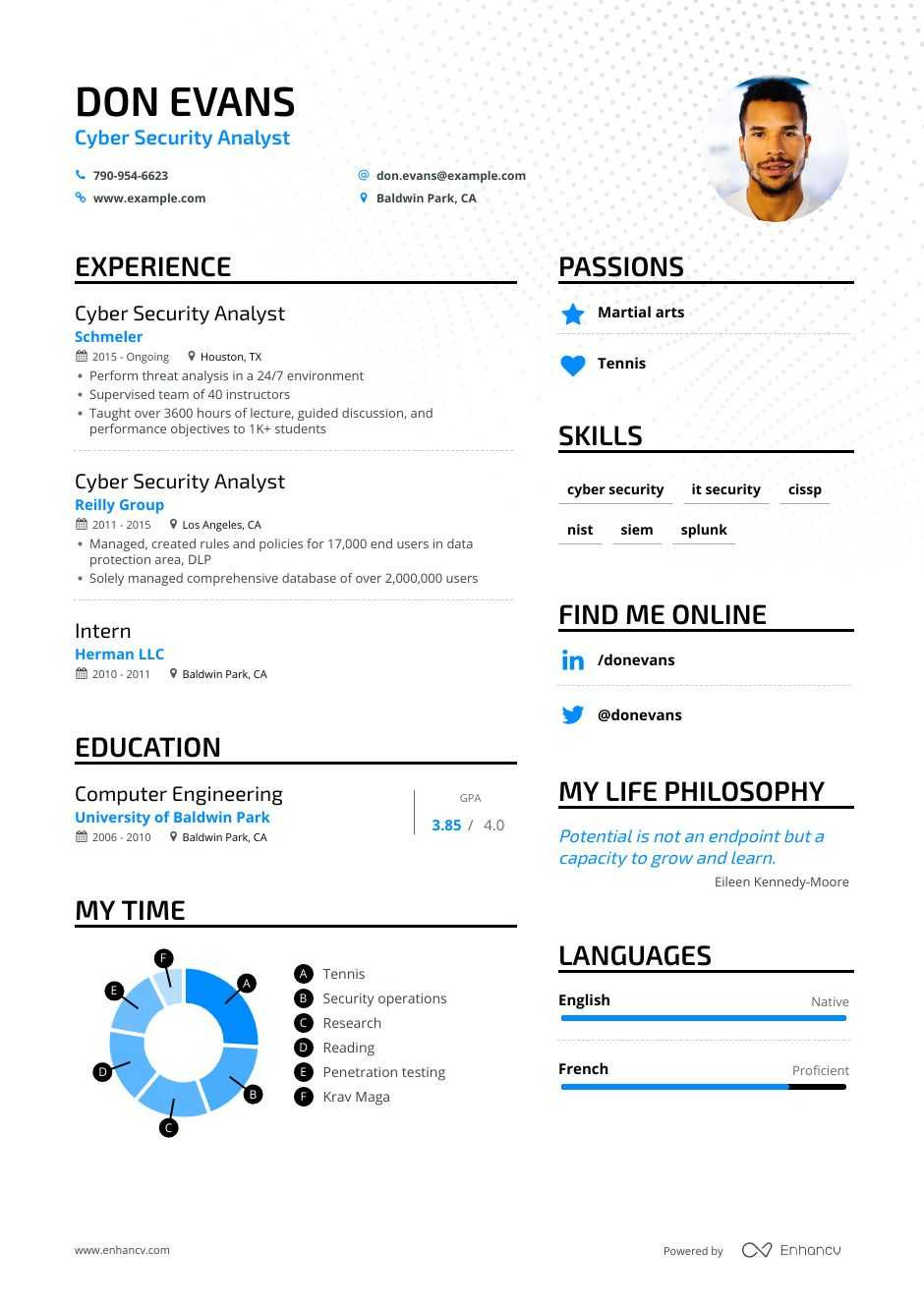 Cyber Security Analyst Resume Examples Guide & Pro Tips